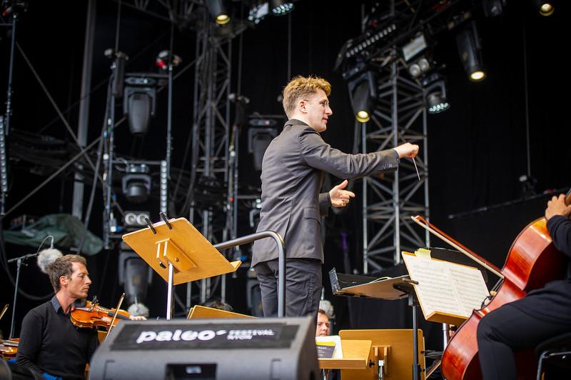 Orchestre de chambre de Lausanne, Paléo Festival Nyon 2019. ©: Paléo / Anne Colliard