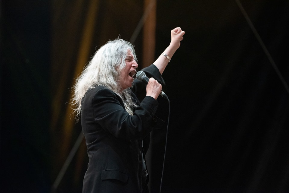 Patti Smith, Cabaret Vert 2019. ©: Florent Mayolet // DarkRoom