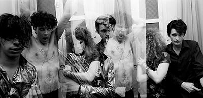 The Cramps backstage Bobino, 1981
