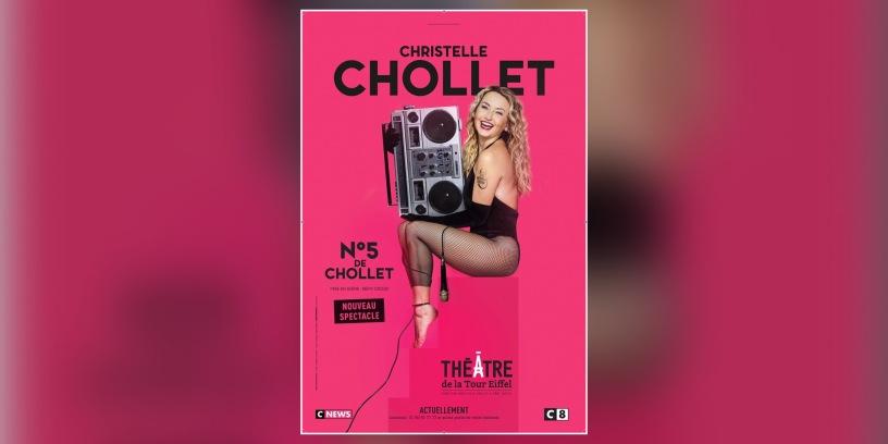 Christelle Chollet, Affiche