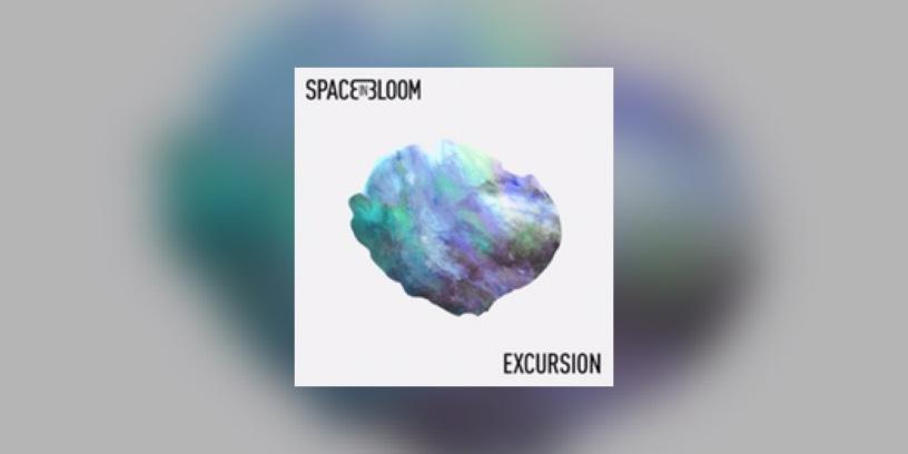 """Visuel de l'EP """"Excursion"""" de Space In Bloom."""