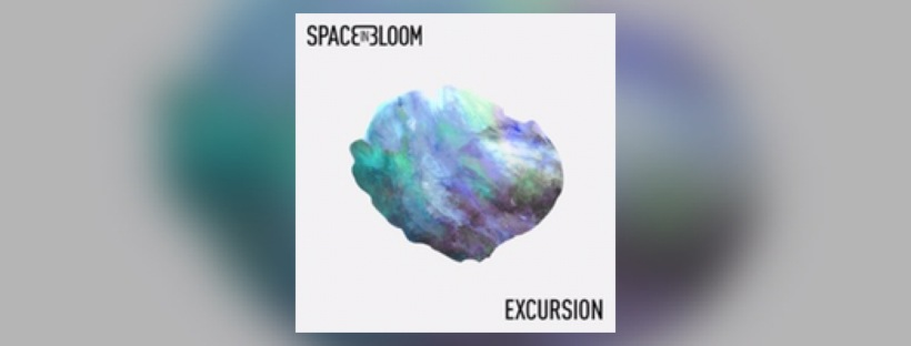 "Visuel de l'EP ""Excursion"" de Space In Bloom."