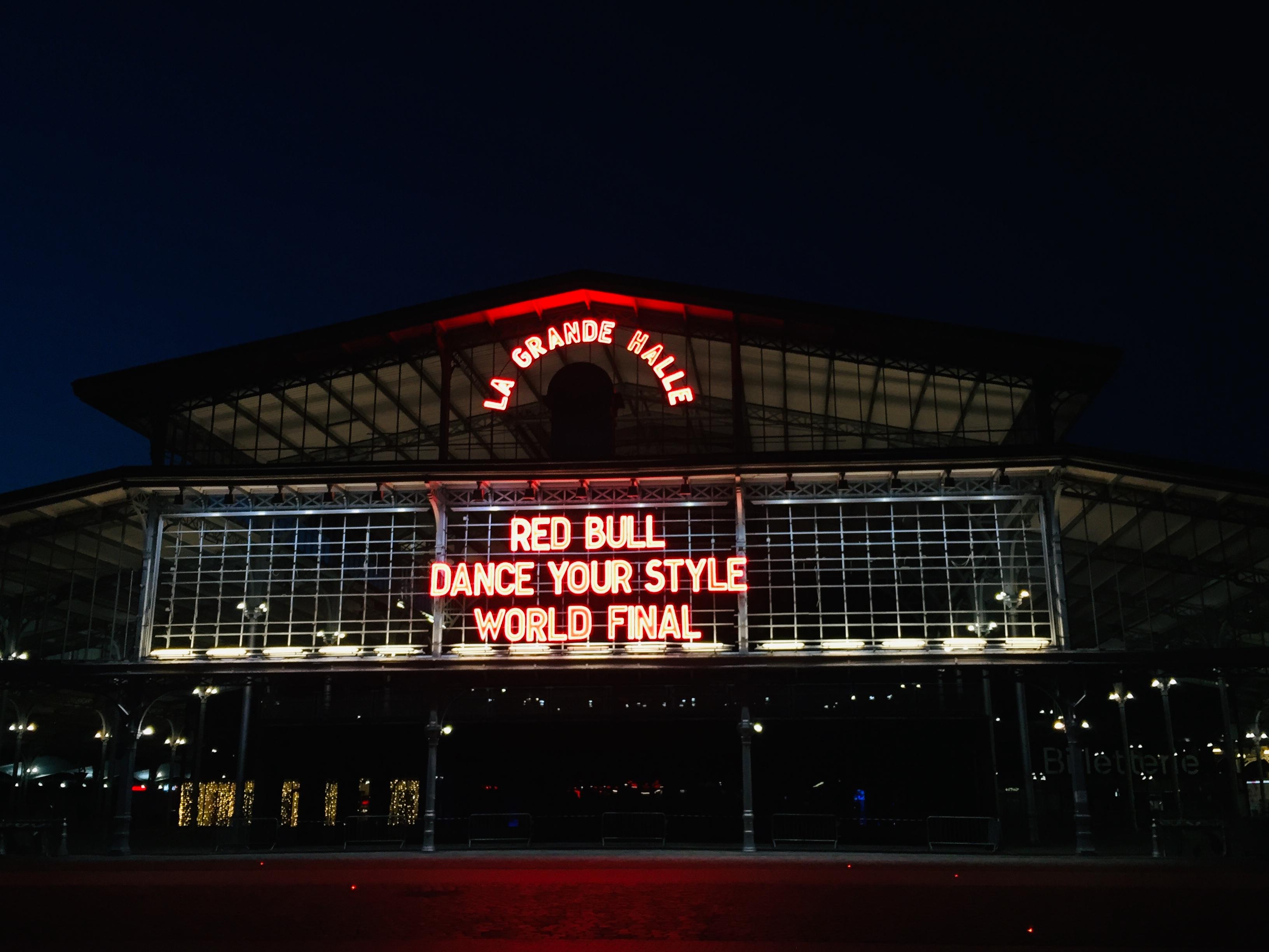 Finale internationale du Red Bull Dance Your Style, à la Grande Halle de la Villette, samedi 12 Octobre 2019.