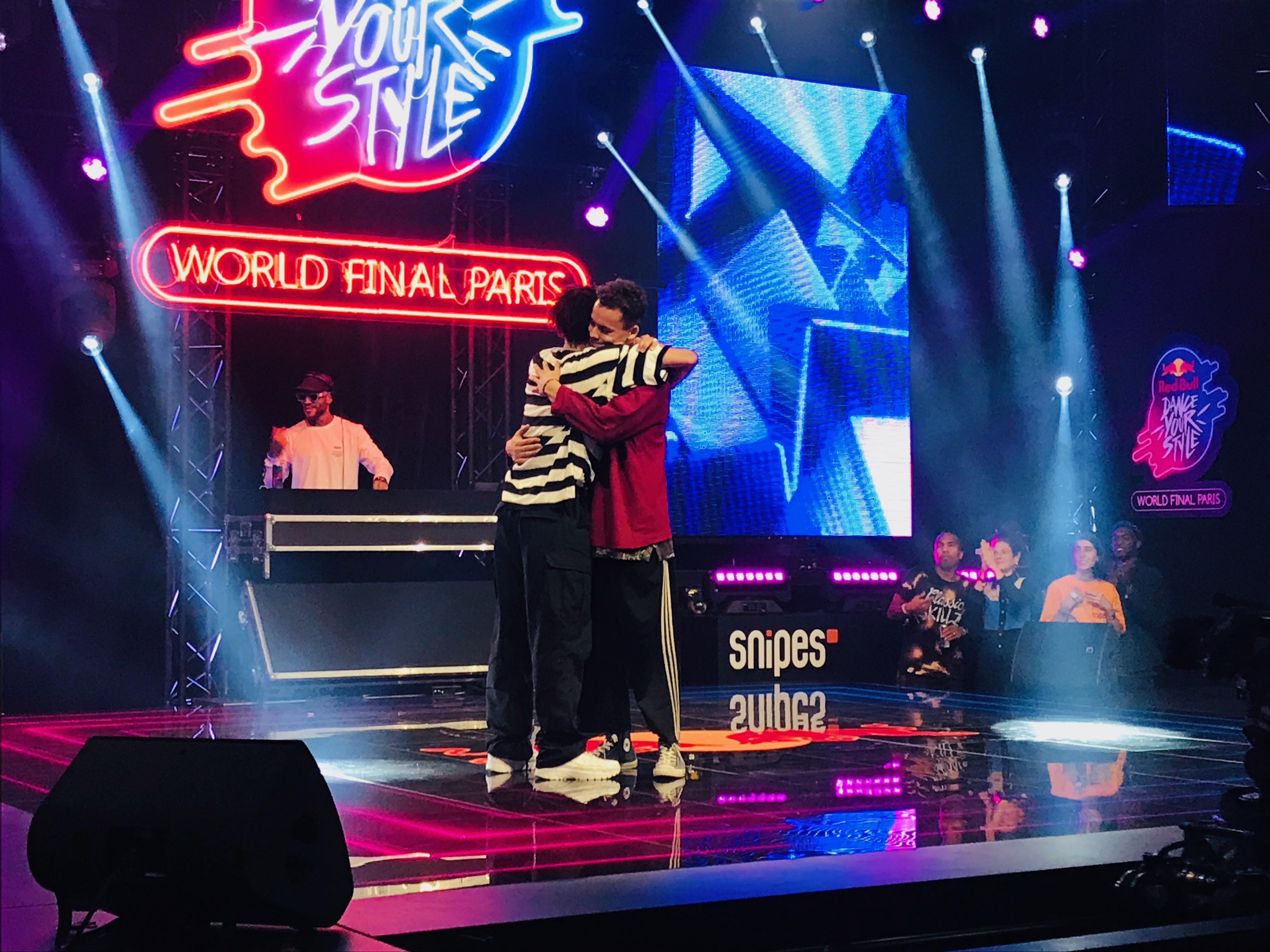 Finale internationale du Red Bull Dance Your Style 2019, à la grande halle de la Villette.
