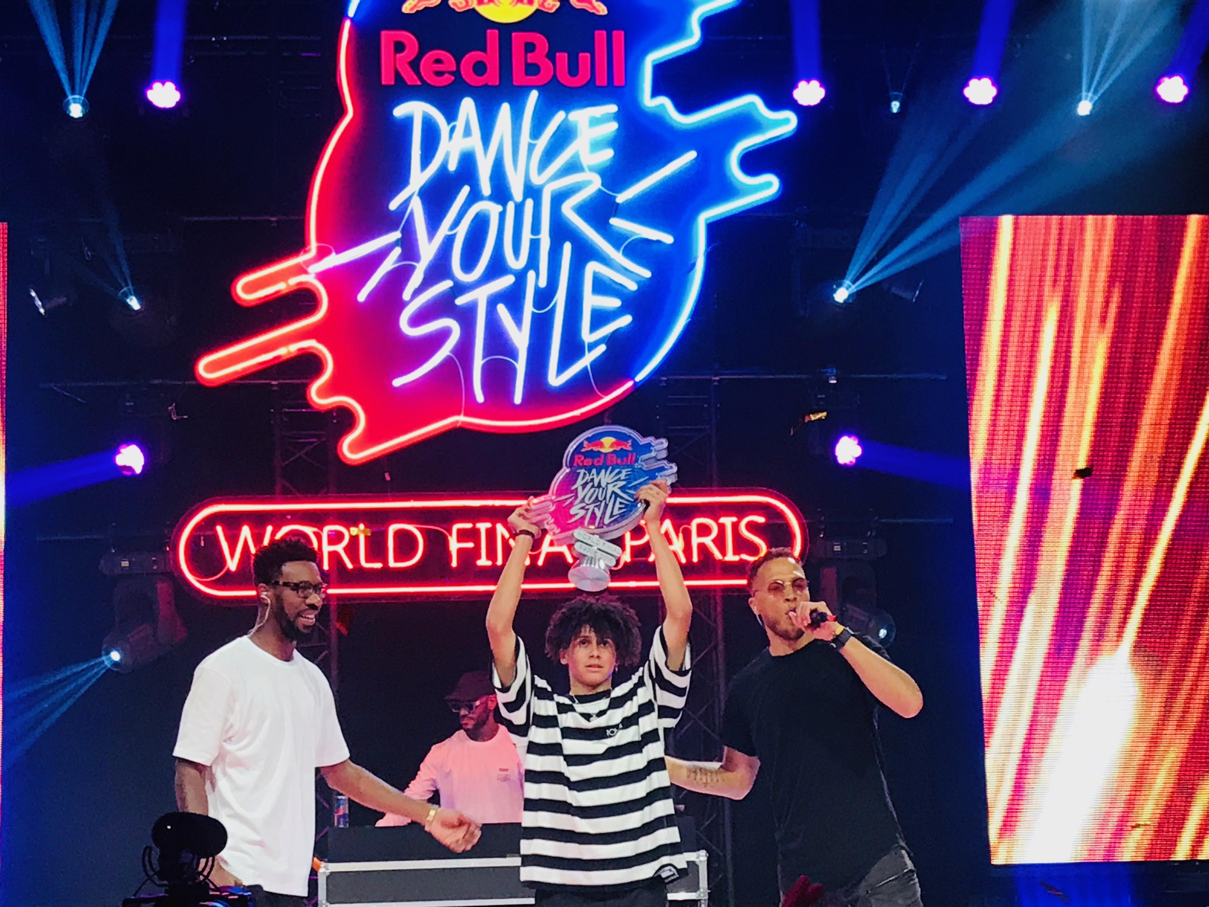 le Hollandais Shinshan, vainqueur de la finale internationale du Red Bull Dance Your Style 2019.