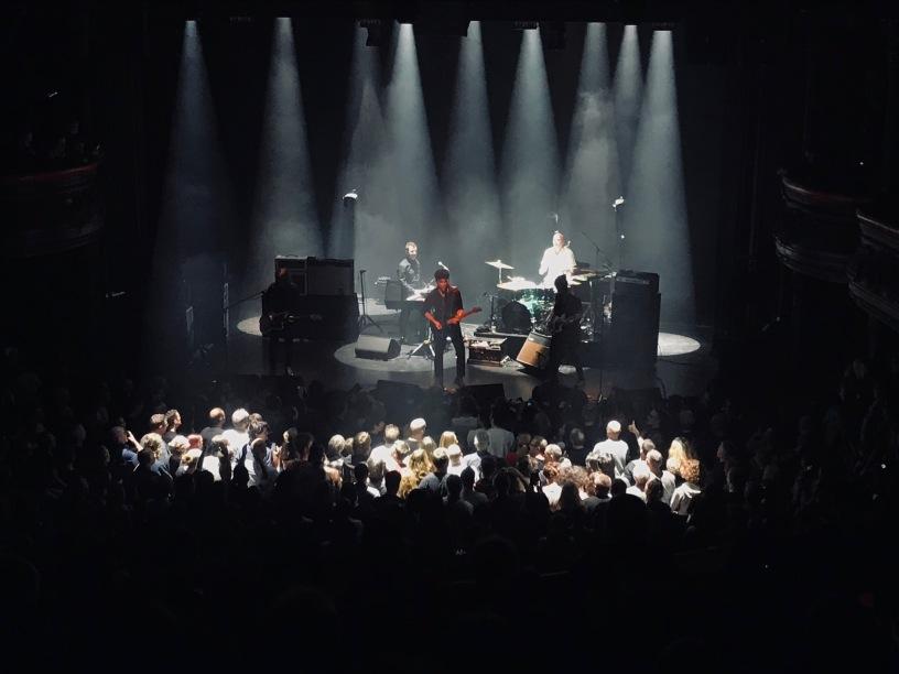 Le groupe de rock Eiffel, en concert à La Cigale le 14 novembre 2019. (c): phenixwebtv.com