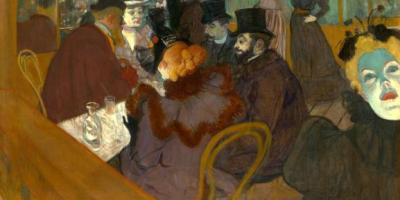 Au Moulin Rouge, Toulouse Lautrec, XIXeme