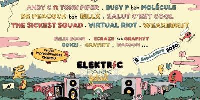 Les 15 premiers noms de la programmation 2020 d'Elektric Park Festival.
