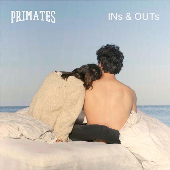 """Pochette du single """"Ins & Outs"""" de Primates."""