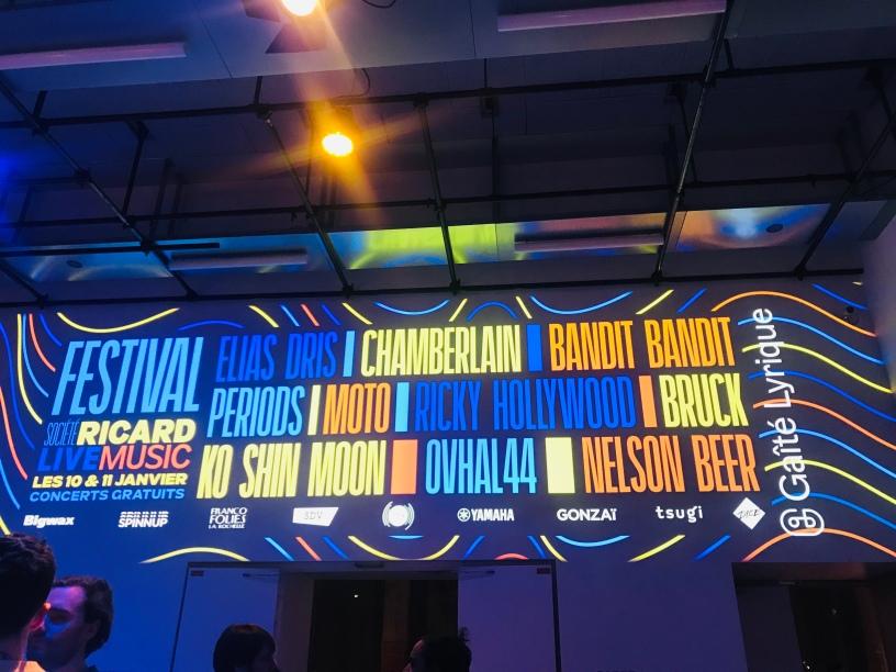Festival Société Ricard Live Music 2020