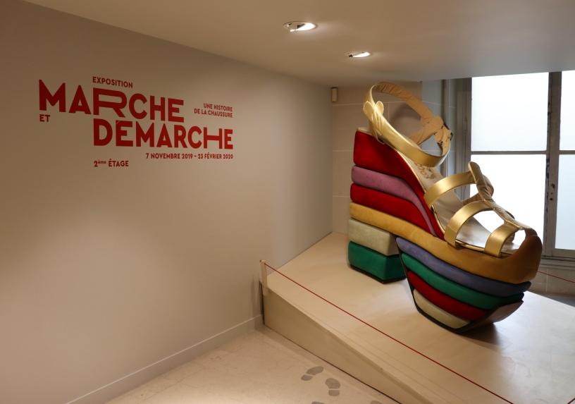 Marche et Démarche, une histoire de la chaussure, au Musée des Arts Décoratifs