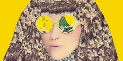 "visuel ""Lady Lightly"" de Kyrie Kristmanson, sortie le 10 janvier 2020."