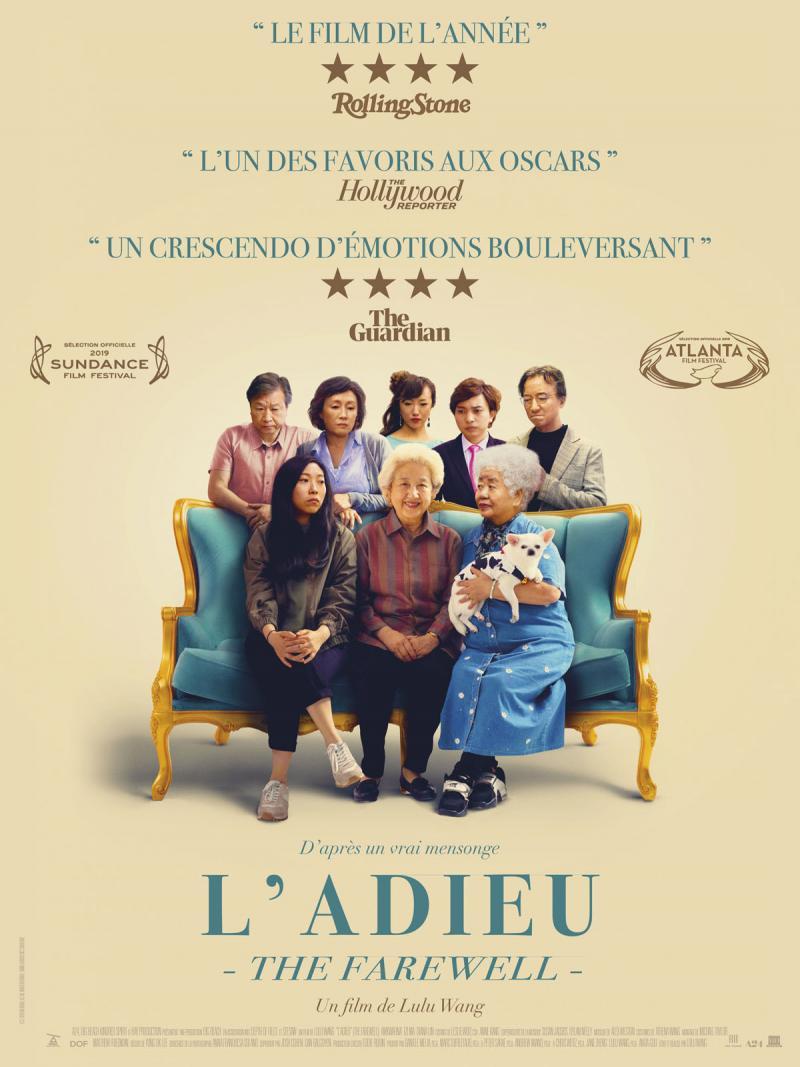"""Affiche du film """"l'Adieu - The Farewell"""""""