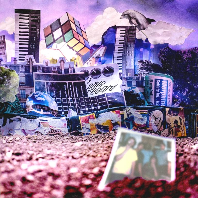"""Artwork de """"Terrain Vague"""", le nouvel EP de Pâle Regard, disponible le 17 janvier 2020. (c): Emmanuel Mazy"""