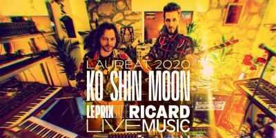 Ko Shin Moon, Prix Société Ricard Live Music 2020.