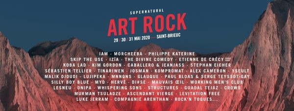 Programmation Art Rock 2020