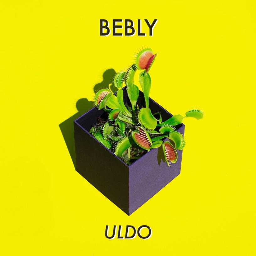 """Visuel de l'EP """"Uldo"""" du trio Bebly, disponible le 21 février 2020."""