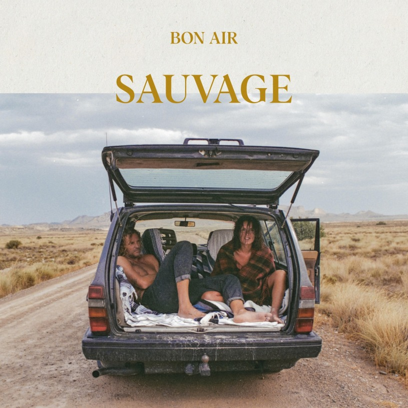 "Visuel ""Sauvage"", le premier album de Bon Air."