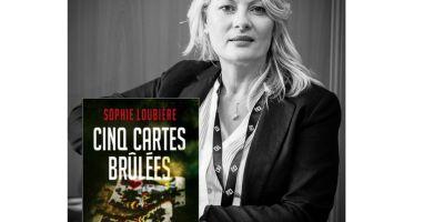 """""""Cinq cartes brûlées"""" de Sophie Loubière."""