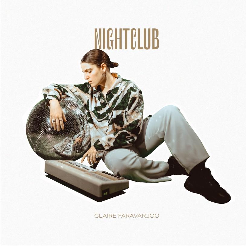 """Visuel """"Nightclub"""", le premier album de Claire Faravarjoo. (c): Naïssa B"""