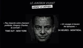"""Gregory Charles, le """"Jukebox vivant"""" en spectacle à l'Européen les 9 & 10 mars 2020."""