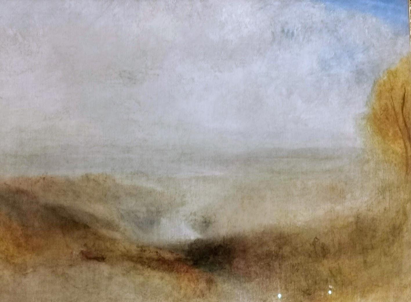 William Turner : Paysage avec une rivière et une baie dans le lointain (collection permanente du Louvre)