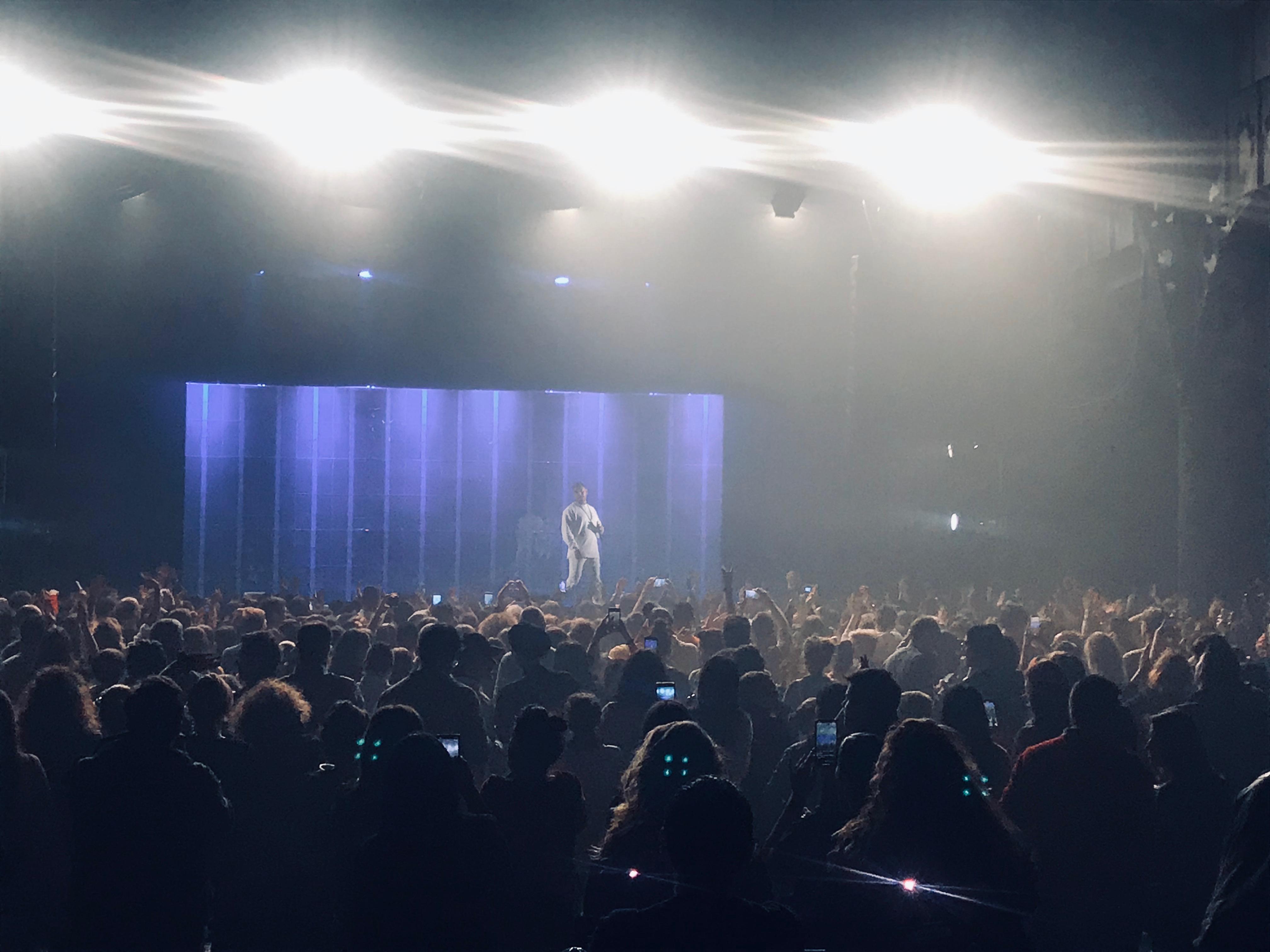 """K.Maro à l'Elysée Montmartre le 29 février dernier, pour les 15 ans de son tube """"Femme Like U"""""""