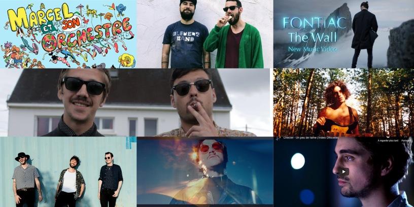 les clips de la semaine #44 avec Magon, 2PanHeads, Fontiac, Checler, Cézaire, Marcel et son orchestre, Diva Faune, Luke Anger