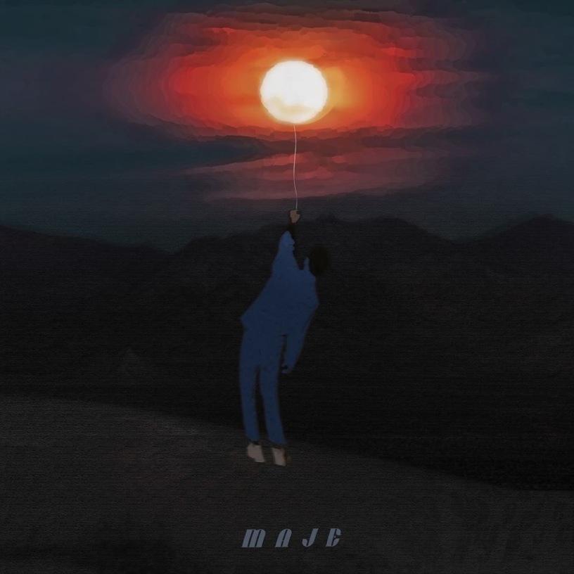 """Visuel """"Maje"""", le premier EP de Masoe disponible depuis le 10 février 2020."""