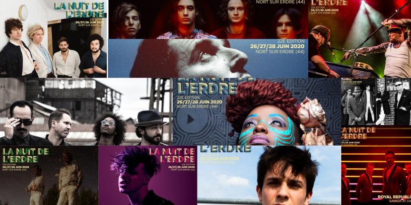 Les 11 nouveaux artistes annoncés à La Nuit de l'Erdre