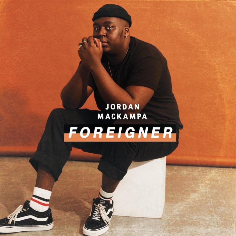 """Cover """"Foreigner"""", Jordan Mackampa"""