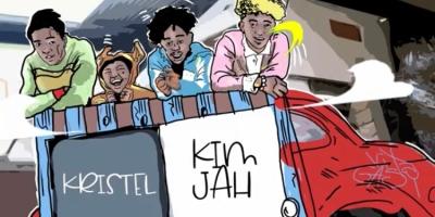 """capture d'écran """"Wait For Me"""" Kristel feat Kim Jah"""