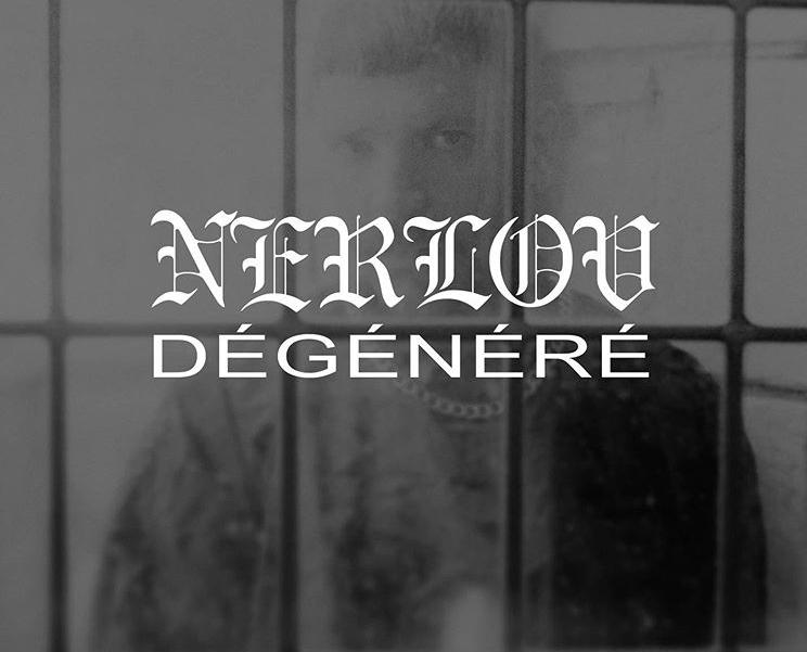 """Visuel """"Dégénéré"""", Nerlov."""