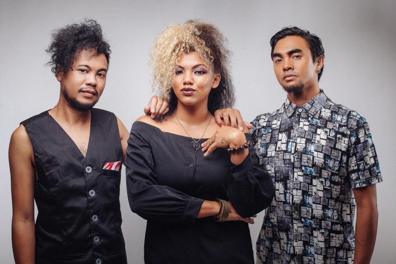 Le trio Malgache Kristel