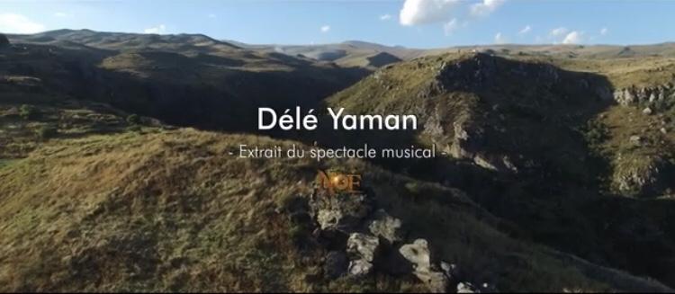 """Capture d'écran """"Délé Yaman"""", extrait du spectacle musical """"Noé"""""""
