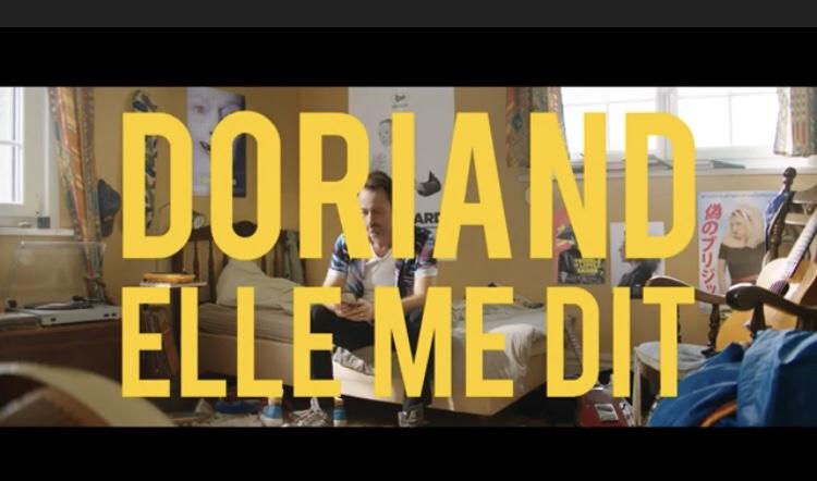 Capture d'écran «Elle me dit» - Doriand