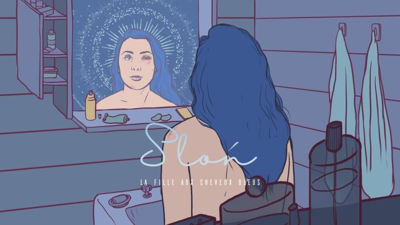 Sloń - La Fille Aux Cheveux Bleus