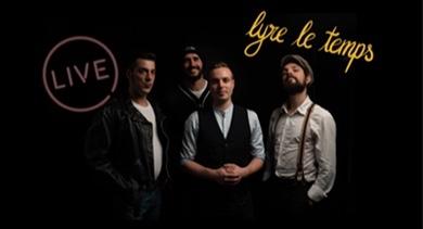 Lyre le Temps sur la scène de La Laiterie les 5 & 6 juin.