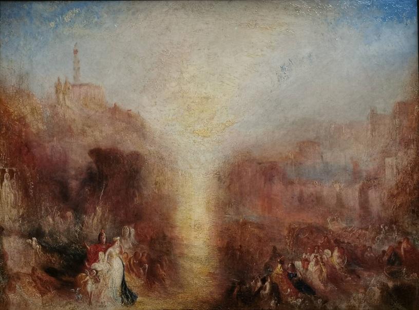 """""""Visite à la tombe"""" W. Turner"""