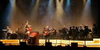 Renan Luce en concert au Forum de Flers le 25 septembre dernier.