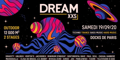 Dream XXS aux Docks de Paris le 19 septembre 2020.