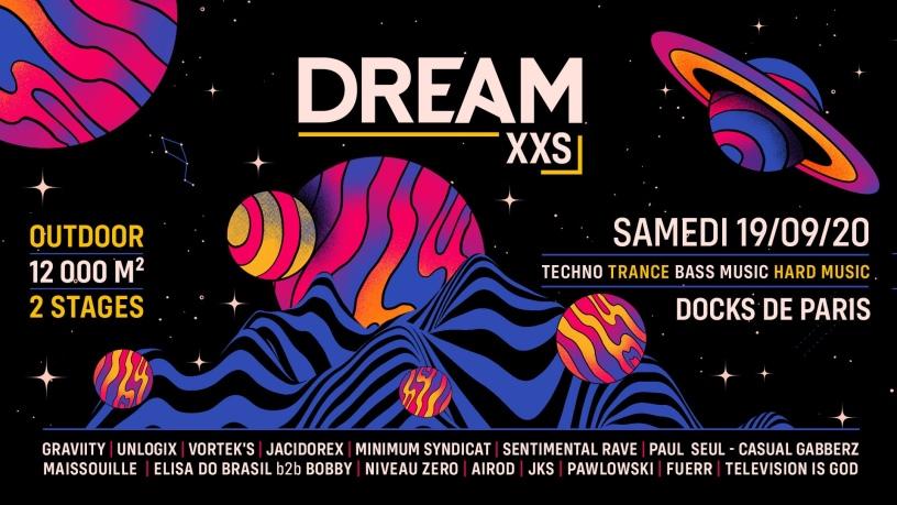 Dream XXS aux Docks de Paris le 19 septembre 2020.