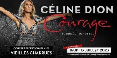 Celine Dion sera en concert aux Vieilles Charrues le 13 julllet 2023.