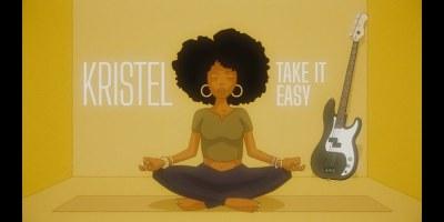 Capture d'écran clip Take It Easy de Kristel