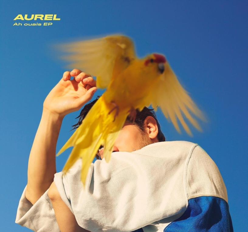 """Pochette de l'EP """"Ah Ouais"""" d'Aurel (c): Simon Vanrie"""