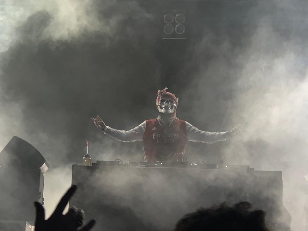 Vladimir Cauchemar sur la Grande scène de La Magnifique Society le 26 juin 2021.