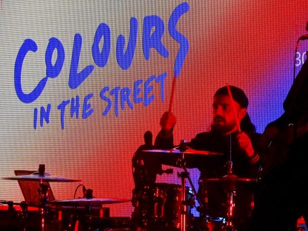 Colours In The Street au musée de l'air et de l'espace pour la Nuit des étoiles le 7 août 2021.