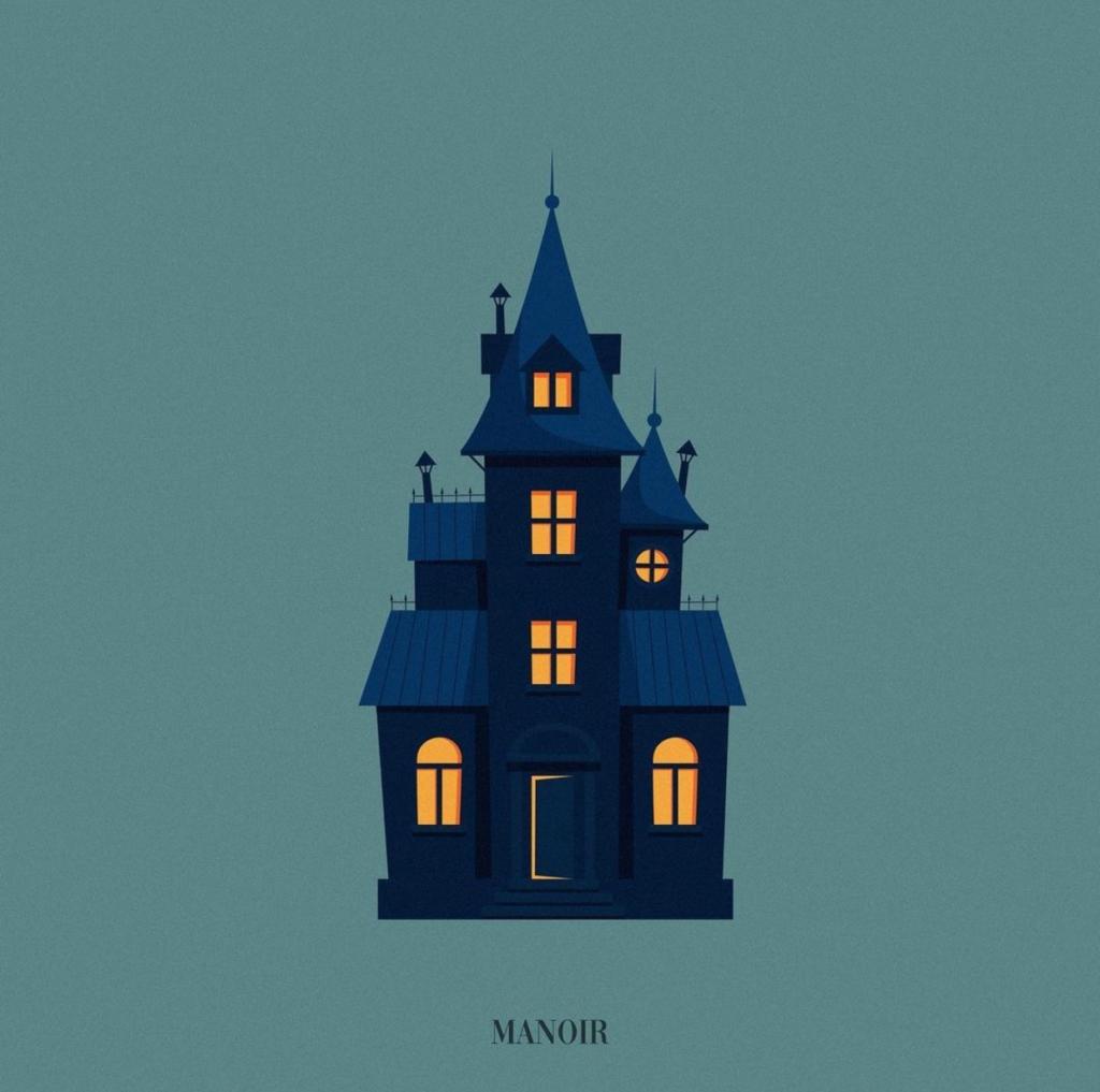 Pochette de l'EP Manoir d'Ajar, disponible depuis le 18 août dernier