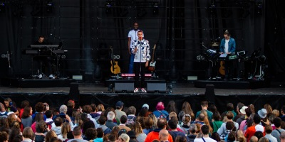 Gaël Faye au festival O'tempo le 28 août dernier. (c): Baptiste Brg