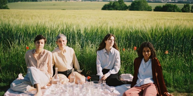 Le quatuor Heu